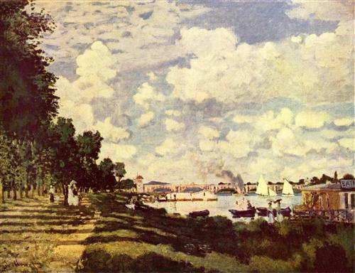 Постер на подрамнике Seine Basin with Argenteuil