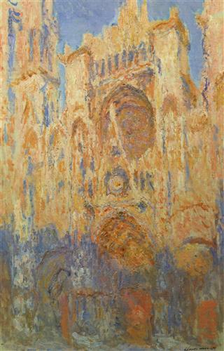 Постер на подрамнике Rouen Cathedral, Facade