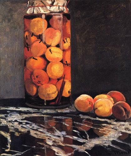 Постер на подрамнике Pot of Peaches