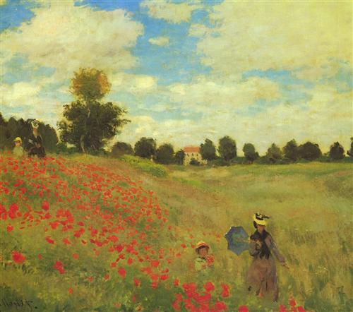 Постер на подрамнике Poppy Fields