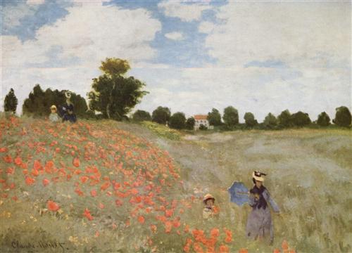 Постер на подрамнике Poppies Blooming