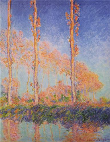 Постер на подрамнике Poplars