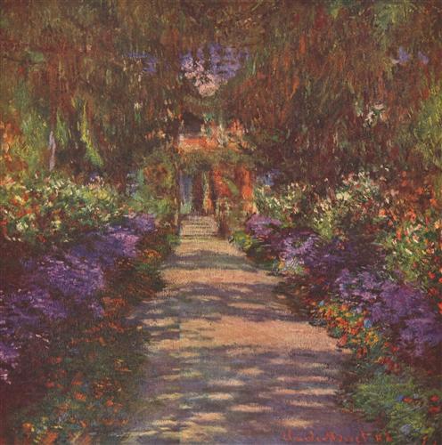 Постер на подрамнике Garden Path