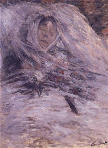 Постер на подрамнике Camille Monet on Her Deathbed