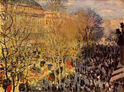 Постер на подрамнике Boulevard des Capucines, Paris