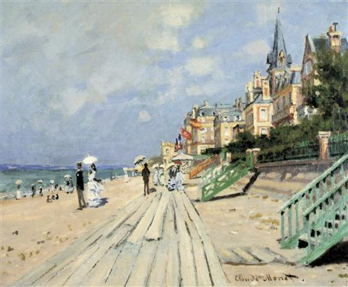 Постер на подрамнике Beach at Trouville