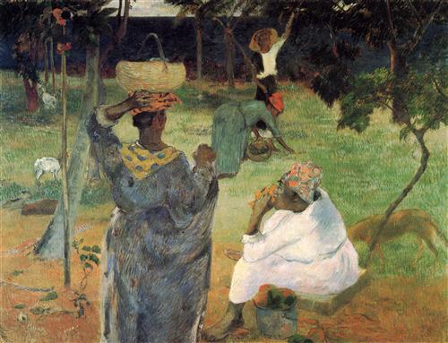 Плакат Fruit Picking, or Mangoes