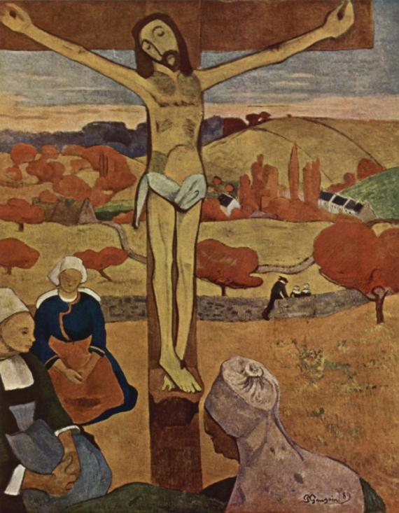 Постер на подрамнике The Yellow Christ