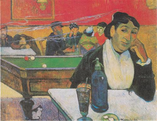 Плакат Cafe de Nuit, Arles