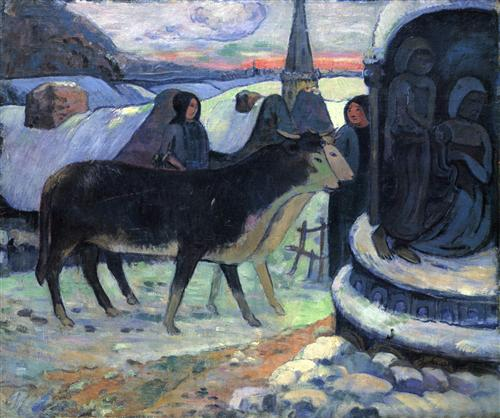 Плакат Christmas Night (The Blessing of the Oxen)