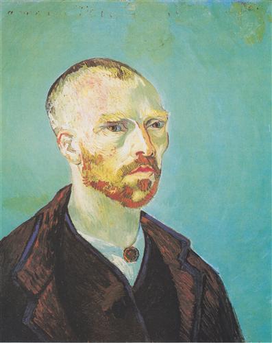 Плакат Self Portrait (dedicated to Paul Gauguin)
