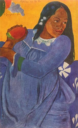Плакат La femme au mango