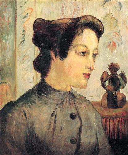 Постер на подрамнике La femme au chignon