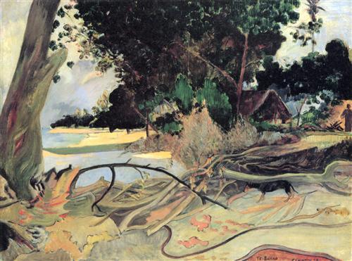 Плакат The Hibiscus Tree