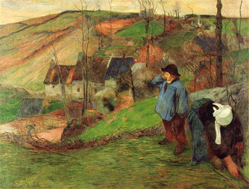 Постер на подрамнике Landscape of Brittany