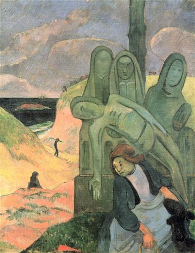 Постер на подрамнике Le Christ vert ou Calvaire breton