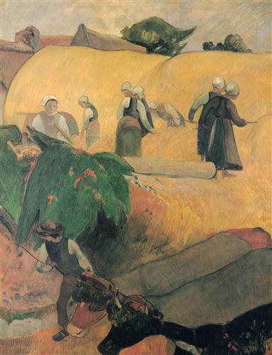 Постер на подрамнике Moisson en Bretagne