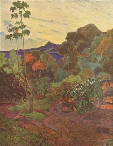 Постер на подрамнике Vegetation tropicale, Martinique