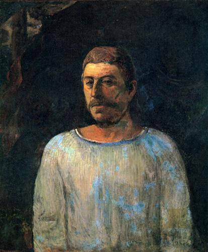 Постер на подрамнике Self-portrait (Near Golgotha)