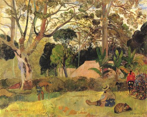 Постер на подрамнике Le grand arbre III