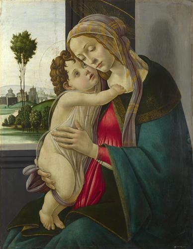 Постер на подрамнике The Virgin and Child