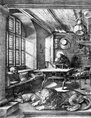 Постер на подрамнике St. Jerome in His Study