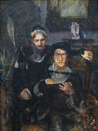 Плакат Гамлет И Офелия