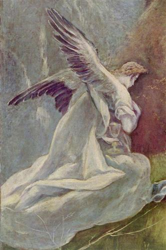 Плакат Christus am Olberg (Detail)