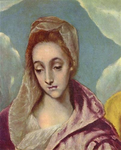 Постер на подрамнике Heilige Familie mit der Hl. Anna (Detail)