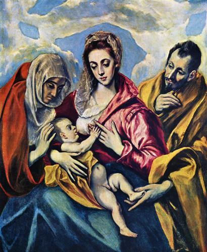 Плакат Hl. Familie