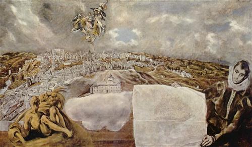 Постер на подрамнике Ansicht von Toledo