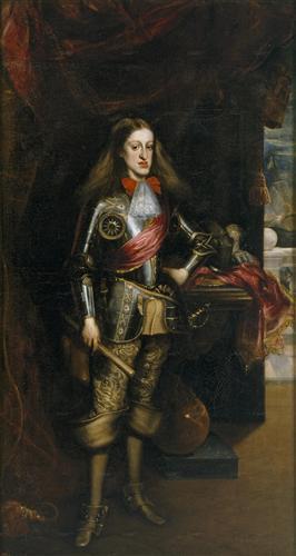 Постер на подрамнике Carlos II de Espana