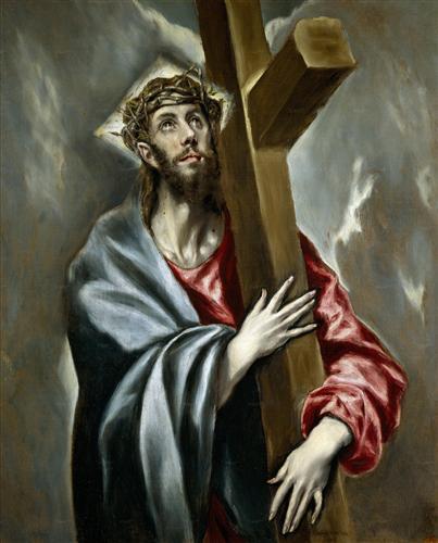 Плакат Cristo Abrazado a la Cruz
