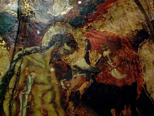 Постер на подрамнике Pieta