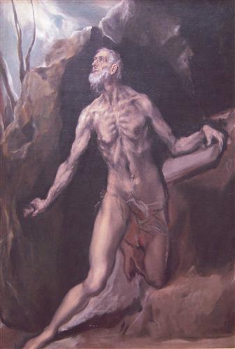 Постер на подрамнике Saint Jerome