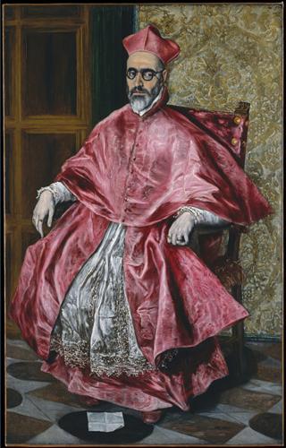 Постер на подрамнике Portrait of a Cardinal, Probably Cardinal Do