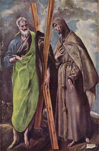 Плакат Hll. Andreas und Franziskus