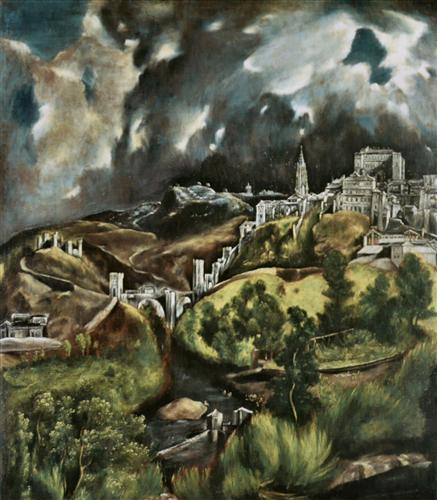 Постер на подрамнике View of Toledo