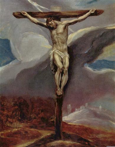 Постер на подрамнике Christus am Kreuz