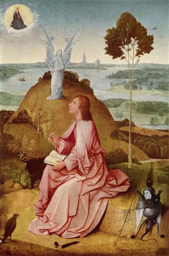Постер на подрамнике Святой Иоанн на Патмосе