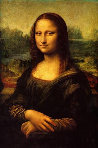Постер на подрамнике Мона Лиза (Джоконда)