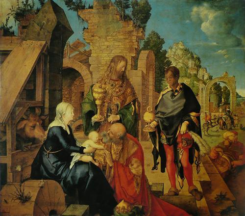 Постер на подрамнике Adoration of the Magi