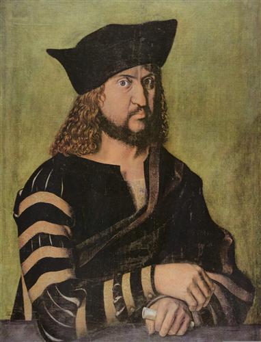 Постер на подрамнике Portrat Friedrichs des Weisen, Kurfurst von Sachsen