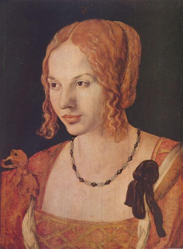 Постер на подрамнике Portrat einer Venezianerin