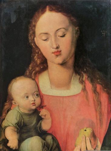 Постер на подрамнике Maria mit Kind