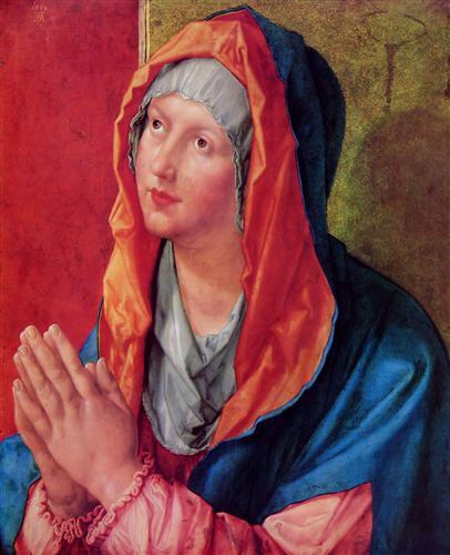Постер на подрамнике Betende Maria