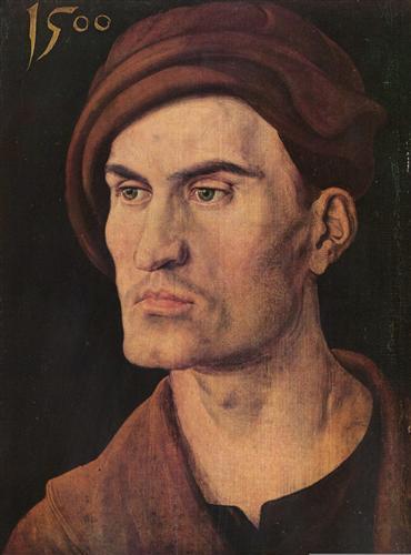 Постер на подрамнике Portraet eines jungen Mannes