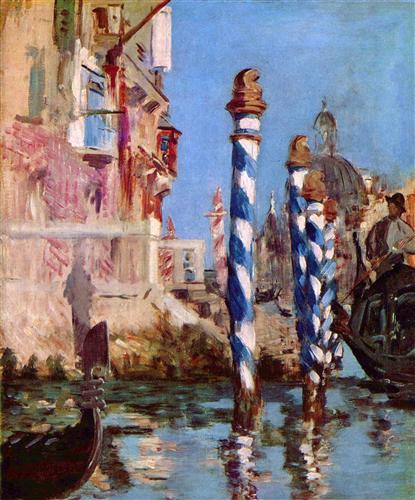 Плакат Canale Grande in Venedig