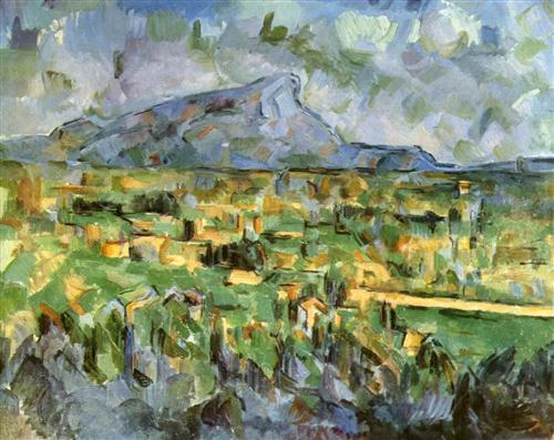 Постер на подрамнике Mont Sainte Victoire