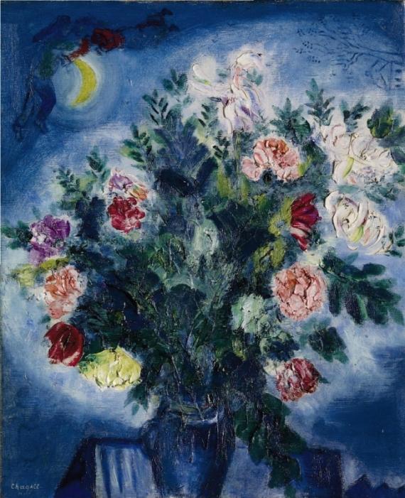 Постер на подрамнике Bouquet de fleurs avec amoureux